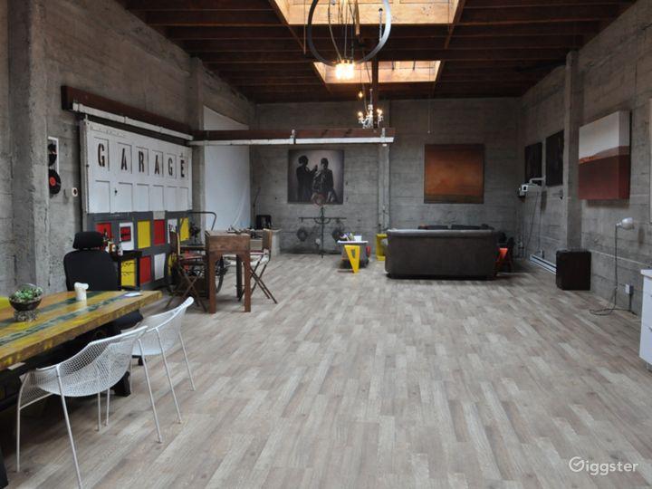 The Garage SFO: Luxury Live/Work Warehouse