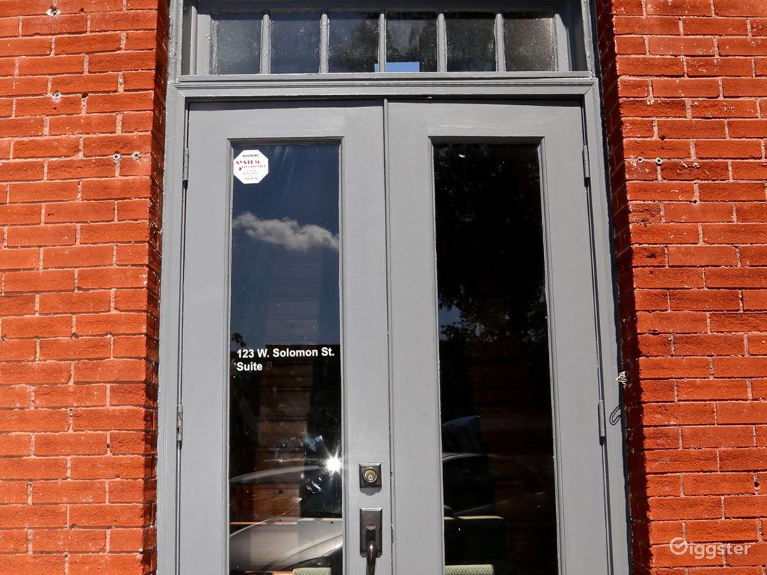 Door from Street level