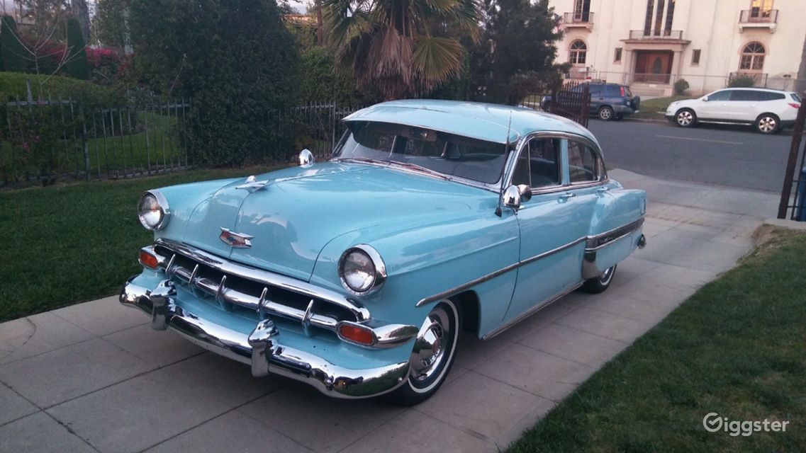 Rent 1954 Chevy Bel Air Car (transportation) for film/photoshoot in ...