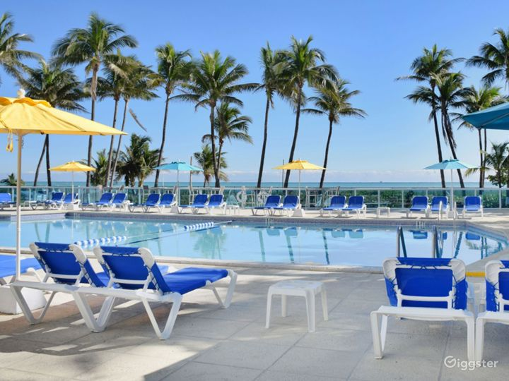 Enjoy the Breathtaking Views at Our Oceanfront Pool Photo 2