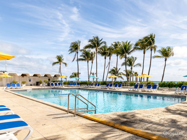 Enjoy the Breathtaking Views at Our Oceanfront Pool Photo 3