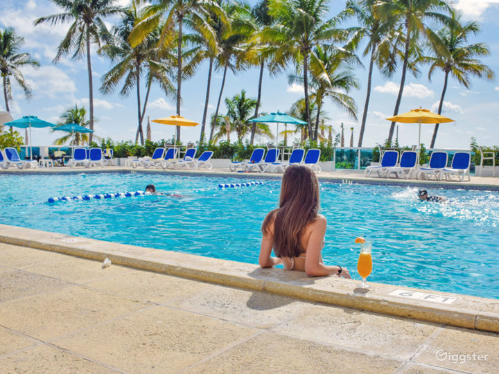 Enjoy the Breathtaking Views at Our Oceanfront Pool Photo 5