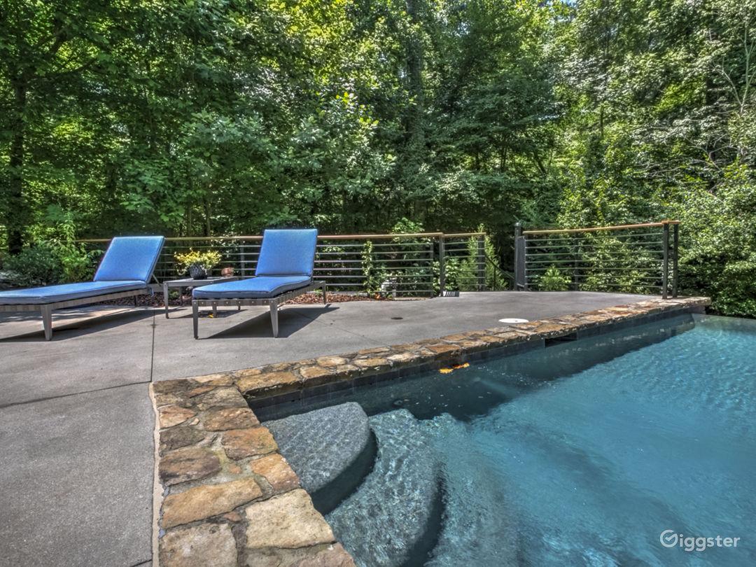 Modern Mountain House with Pool Atlanta Rental