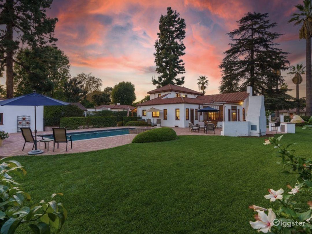 Unique Spanish-Style Villa  Photo 1