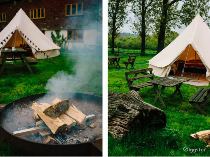 Сharming Tent Area in East Grinstead Photo 5