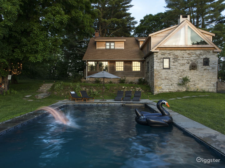 Bucolic stone farmhouse with pool: Location 5128 Photo 3