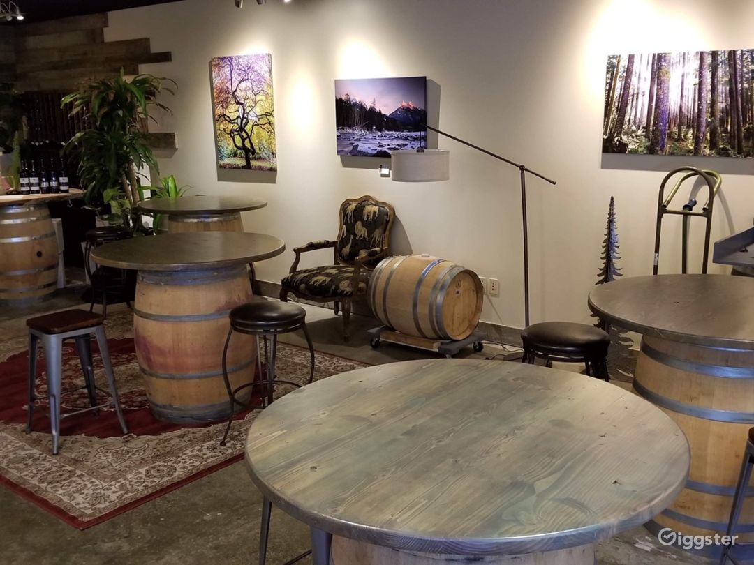 Winery Tasting Room and Production Warehouse Photo 1