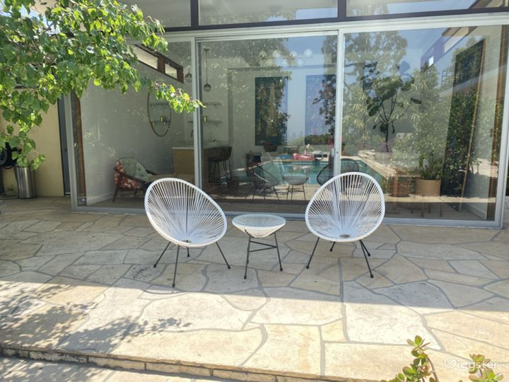 Cabana patio