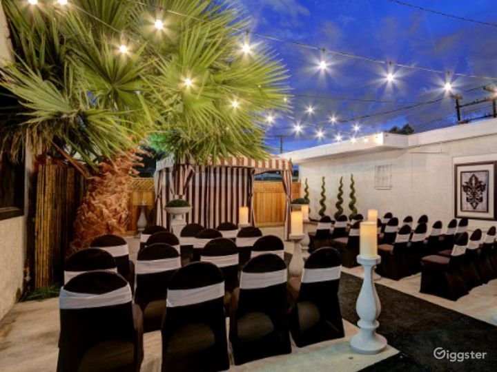 Classy and Elegant Outdoor Wedding Location