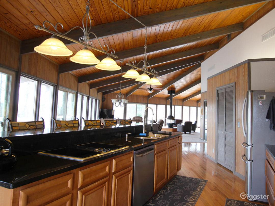 Custom Built,  Hexagon, All-Glass Home on 80 Acres Photo 4