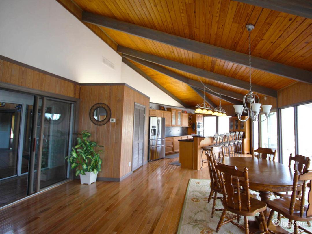 Custom Built,  Hexagon, All-Glass Home on 80 Acres Photo 2