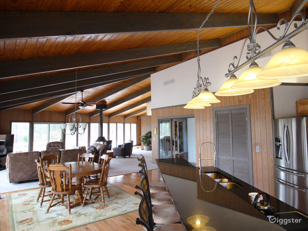 Custom Built,  Hexagon, All-Glass Home on 80 Acres Photo 3