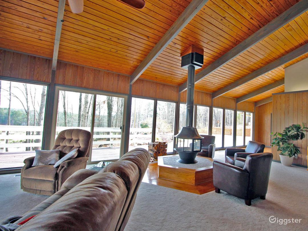 Custom Built,  Hexagon, All-Glass Home on 80 Acres Photo 1