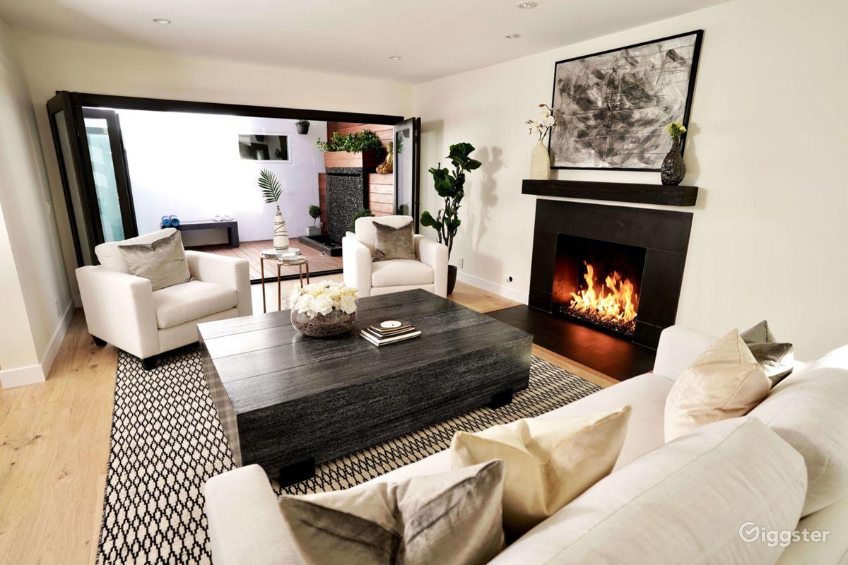 rent large modern zen luxury studio city house house residential