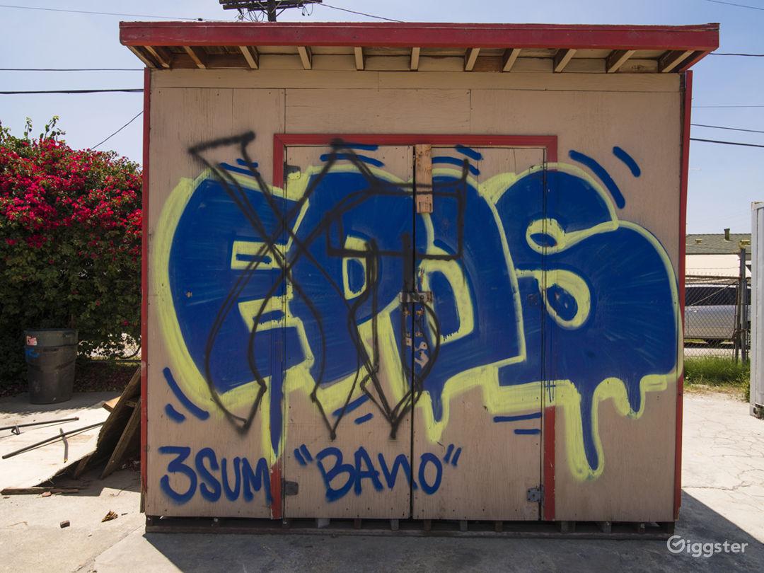 Graffiti Parking Lot Photo 5