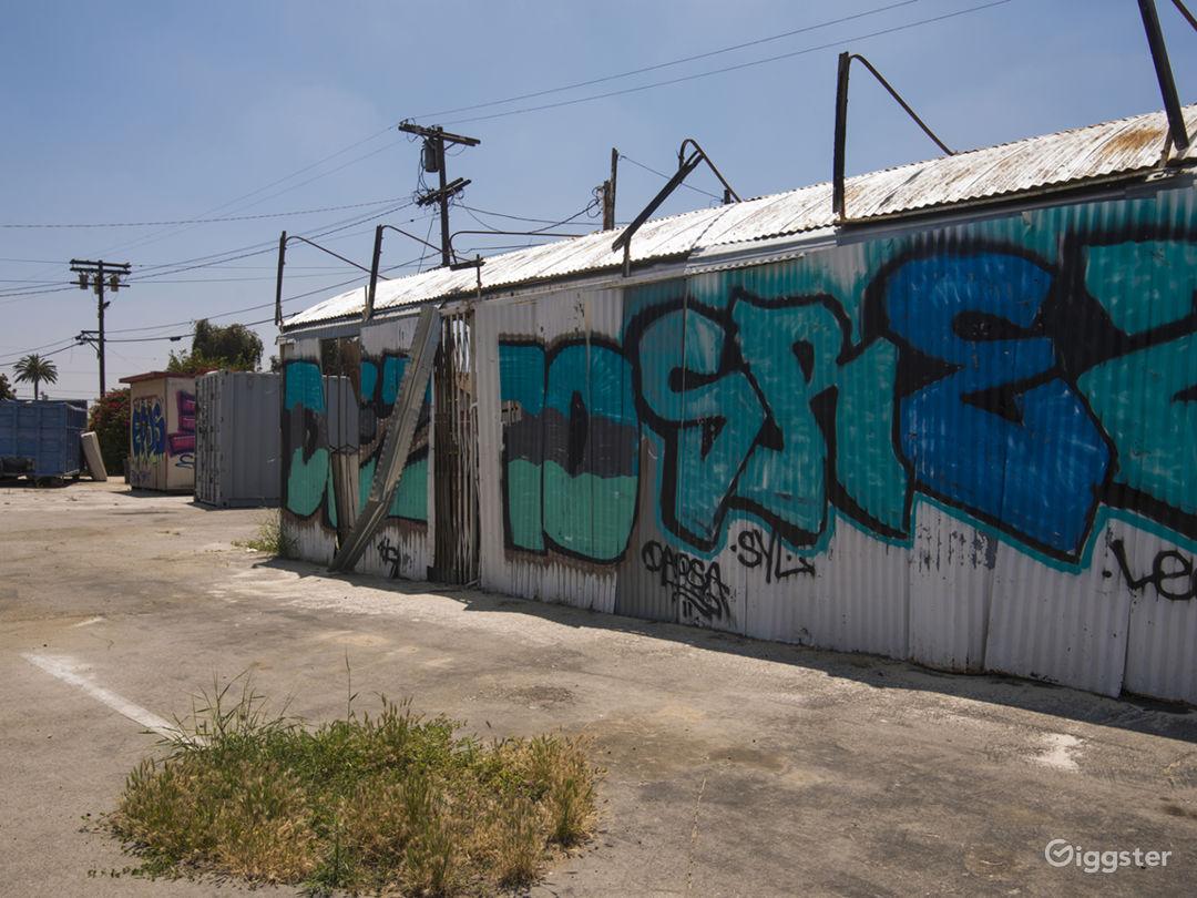 Graffiti Parking Lot Photo 2
