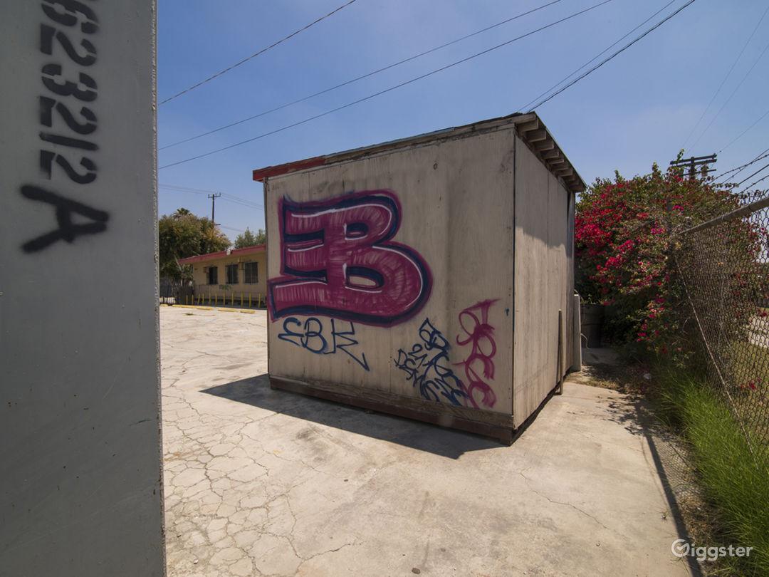 Graffiti Parking Lot Photo 3