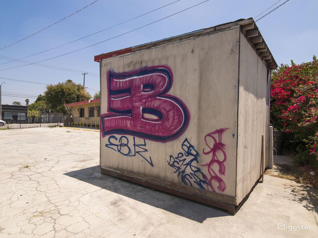 Graffiti Parking Lot Photo 1