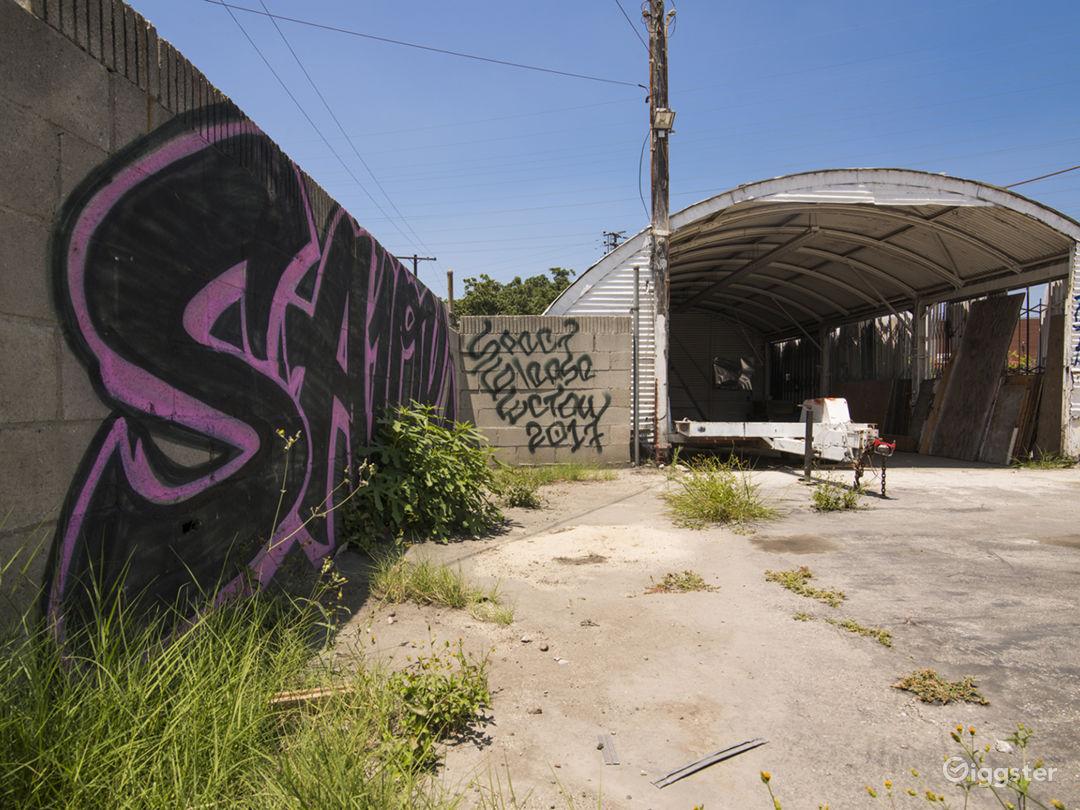 Graffiti Parking Lot Photo 4