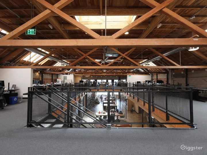 Light-filled Industrial Converted Warehouse