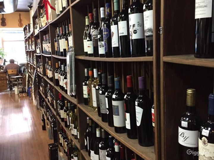 Chic Wine Store in Asheville