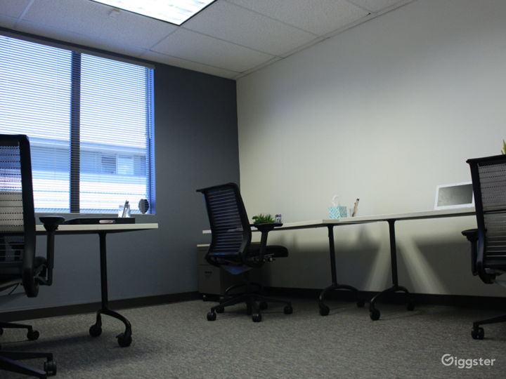 Large private office for 3-4 people.