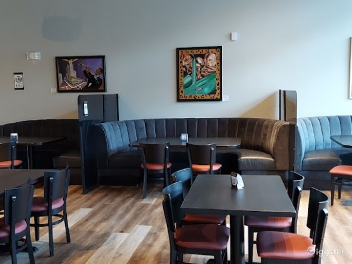 Upscale Brewery Lounge with Art Deco-Asian Theme Photo 4
