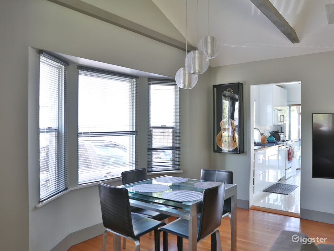 dining space in living room