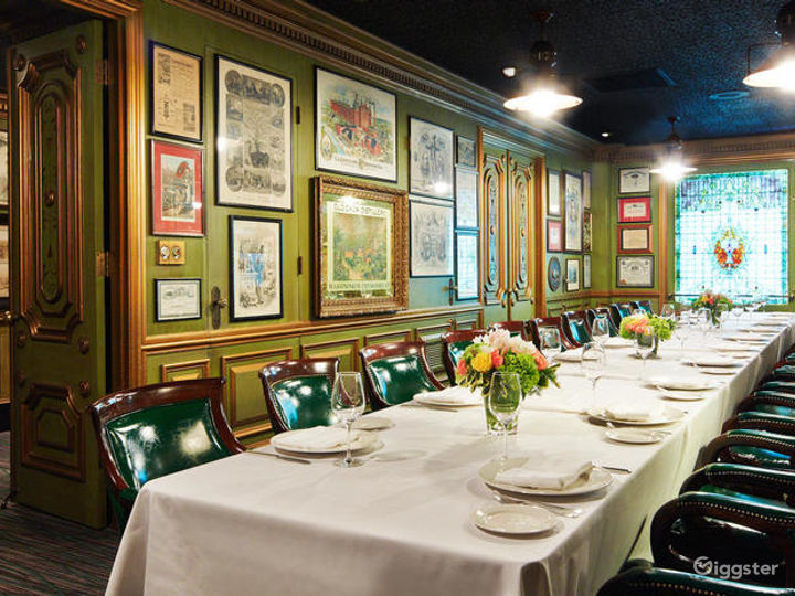 Restaurant Featuring the Elegance and Grandeur of Historic Bay Area Tycoons