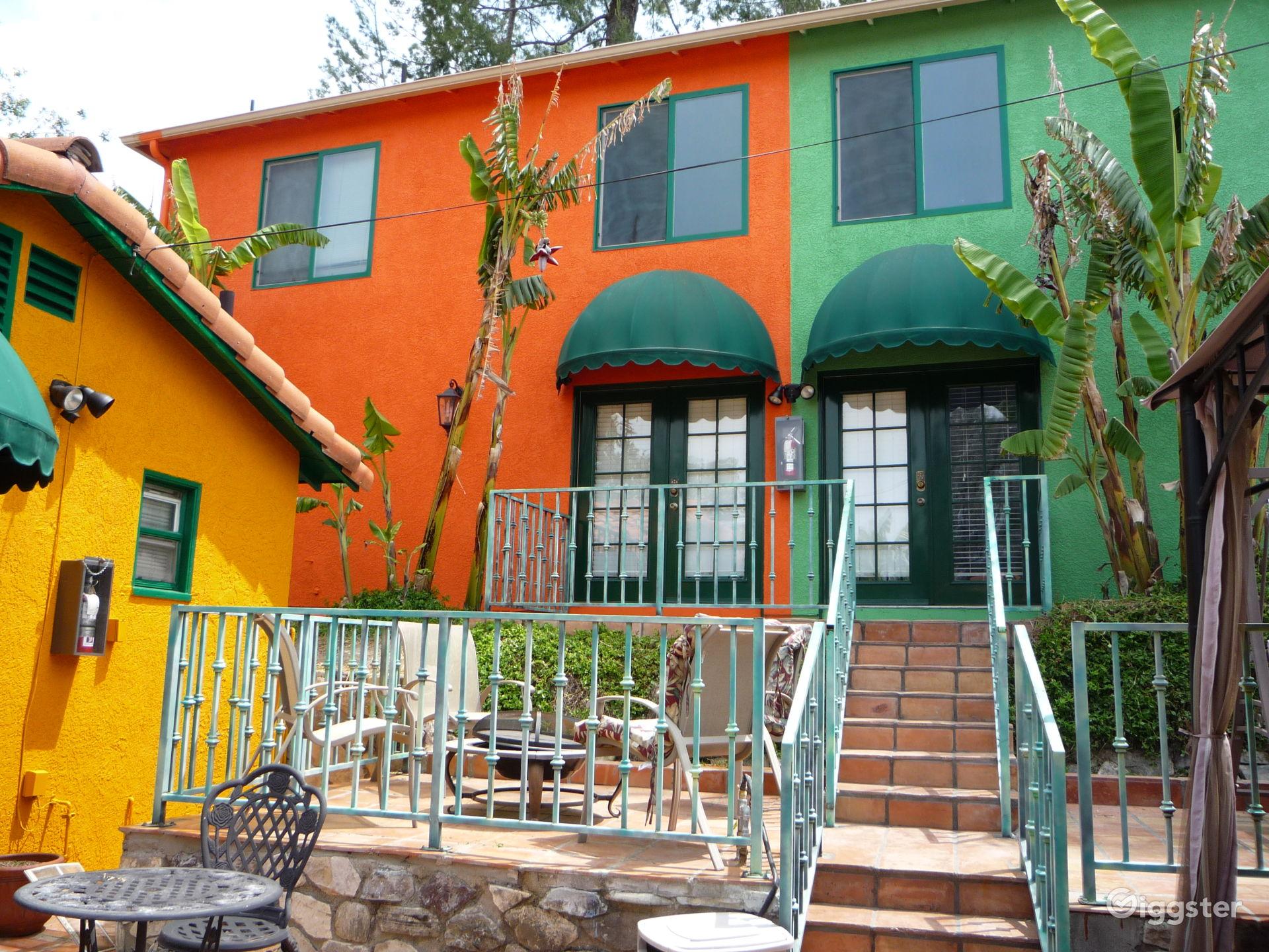 Turnkey Loft Guest House in a Tropical Resort near Woodland Hills Los Angeles Rental