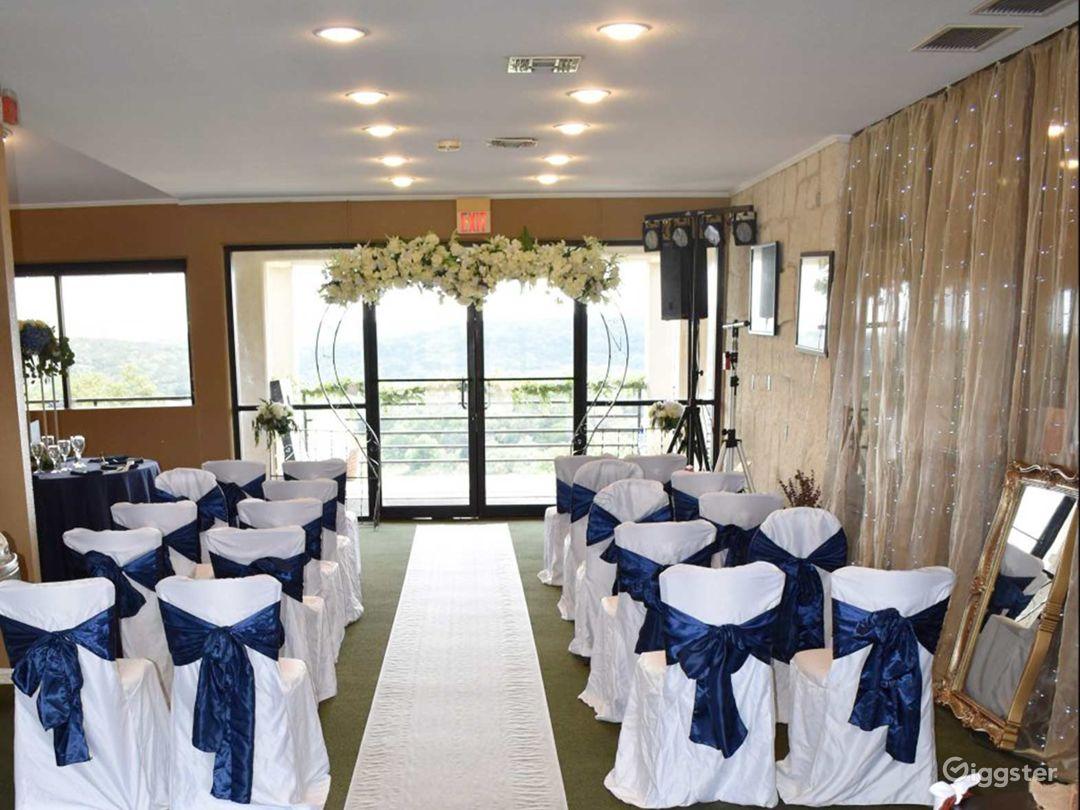 Ballroom with Golf Course Views in San Antonio Photo 1