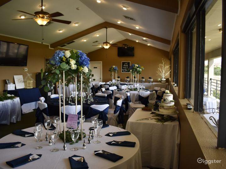 Ballroom with Golf Course Views in San Antonio Photo 5