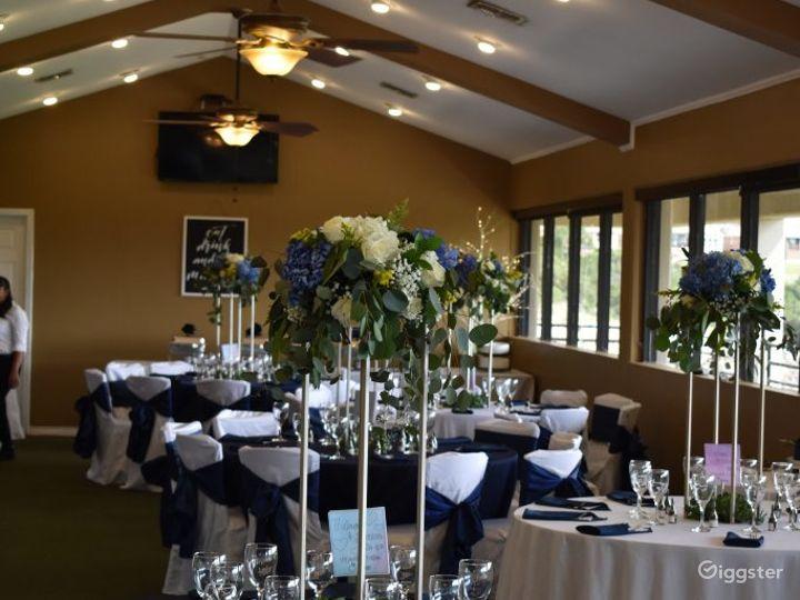 Ballroom with Golf Course Views in San Antonio Photo 4