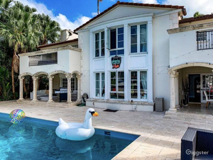 Waterfront Miami Mansion