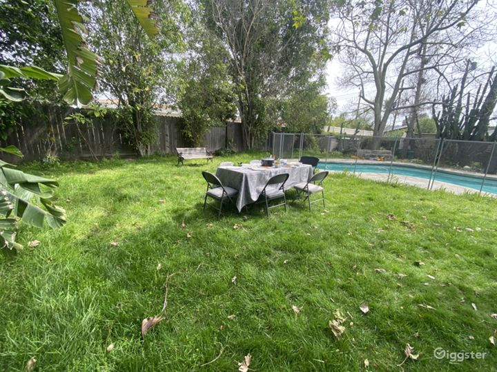 Park like grass area perfect for picnics and outdoor activities