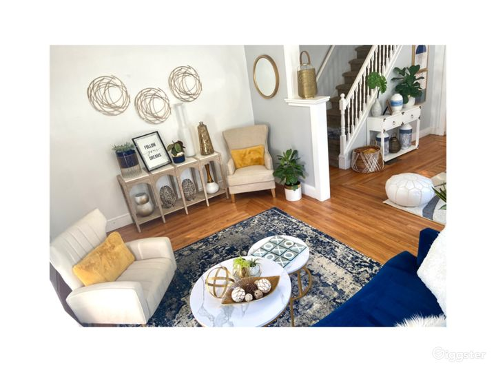 Welcome this is the first living space