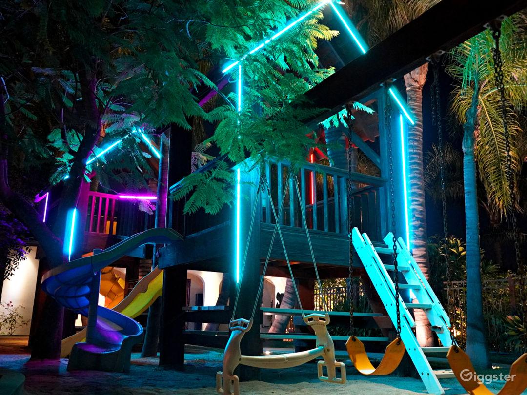 The Fortress w/ Custom Neon Treehouse Photo 5