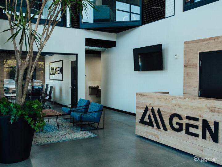 Modern office, B ball court, & fitness studio  Photo 4