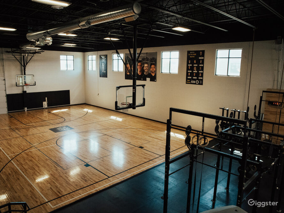 Modern office, B ball court, & fitness studio  Photo 1