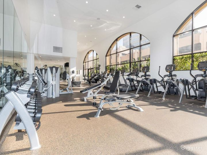 Enormous Gym with Sauna and Indoor Basketball Photo 3