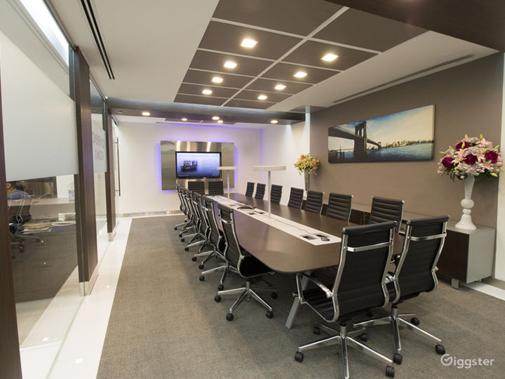 Spacious New Modern Conference Room