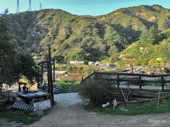 Unique LA Art Ranch with Incredible Views