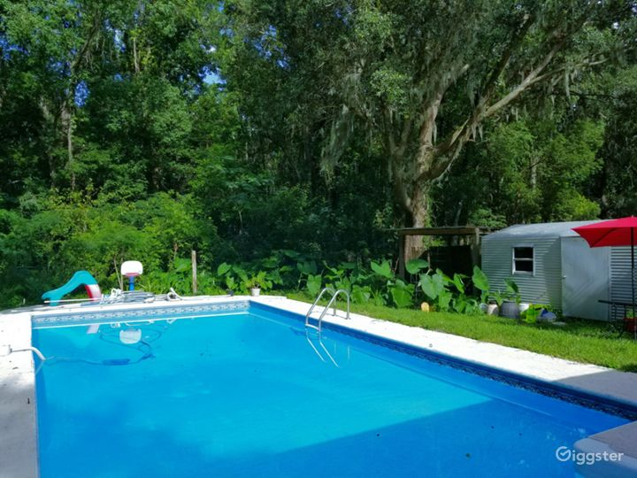 Large Lap Pool Available