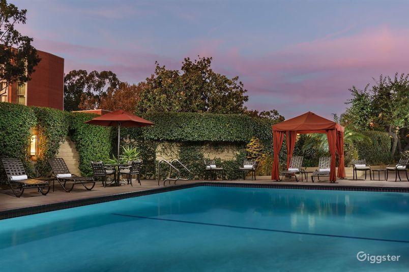 Outdoor Swimming Pool in LA Photo 1