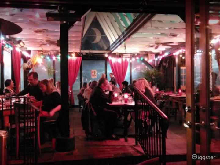 Fine Dining Venue in Buckead - Outside Patio