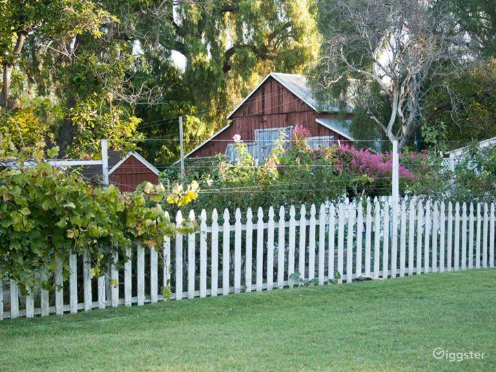 Barns w/Green Lawns, Cornfield & 6 Acre Farm Photo 3