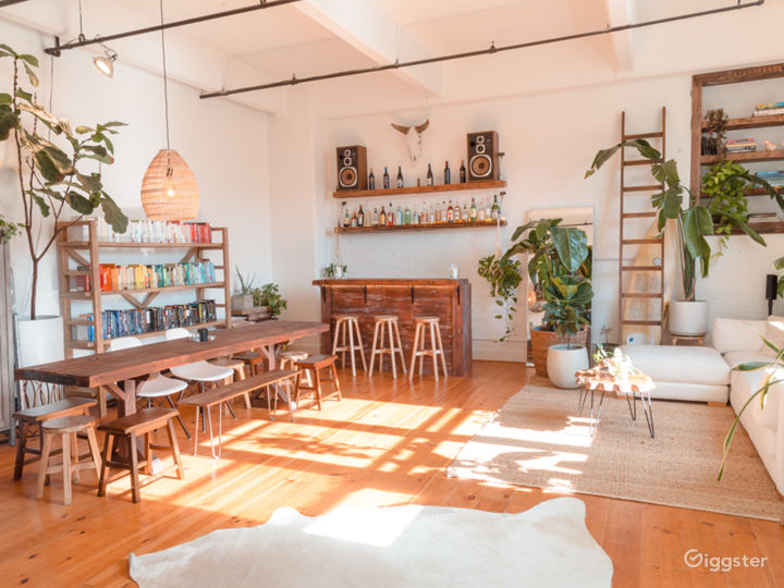 Plant-Filled Loft In Old Factory - Williamsburg