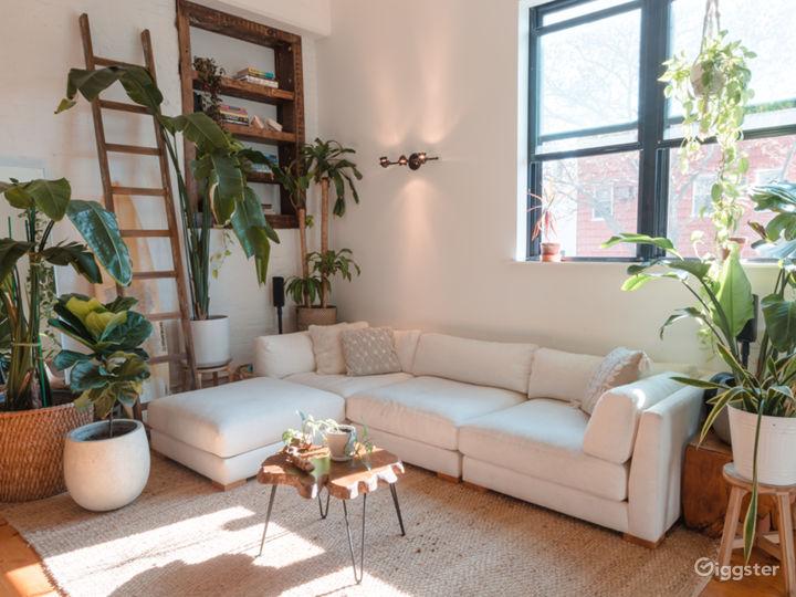 Oversized CB2 sofa