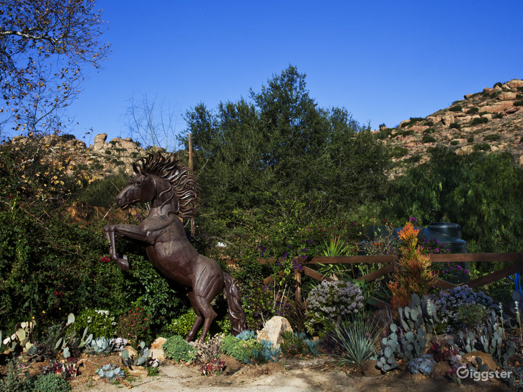 A serene country ranch located in the city.  Conveniently located near the 118 & Topanga Canyon