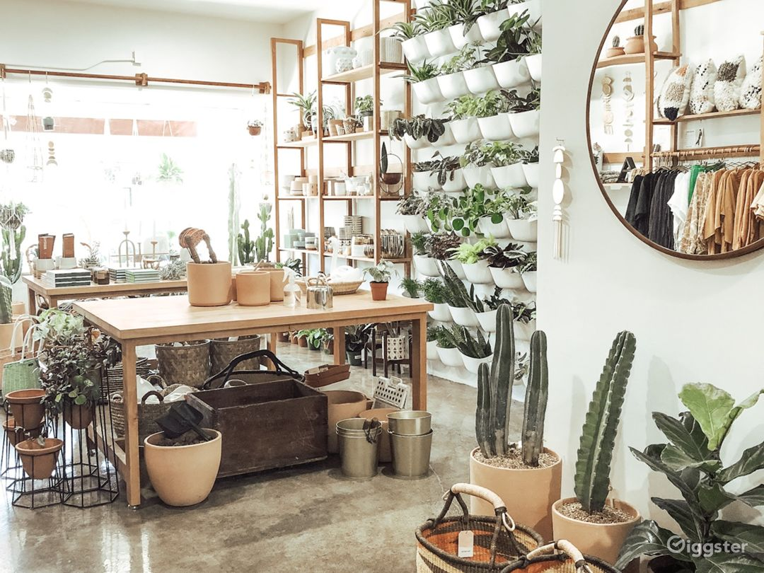 Gorgeous Boho Modern Boutique Storefront or Cafe Photo 3